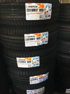 235-60-17,NEW ALL SEASON TIRES ON SALE for $80 only