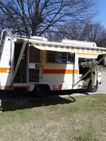 Rare Vintage 18ft 1976 Chevy Class C Motorhome
