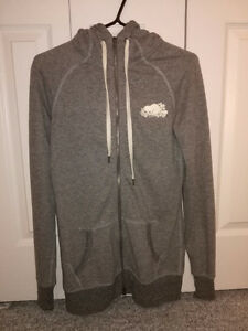Women's Roots Gray Zip-up Hoodie