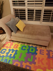 Beige Chaise couch for sale