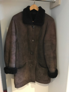 Danier Sheep Skin Winter Jacket