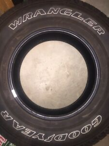 "Jeep Tires 17"" 245/75/r17 $100 for all 4"
