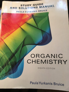 STudy Guide & Solutions Manual- ORGANIC CHEMISTRY