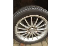 Multi fit 17 inch alloys
