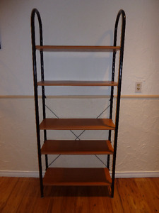 Standing Shelving unit Brown/Black