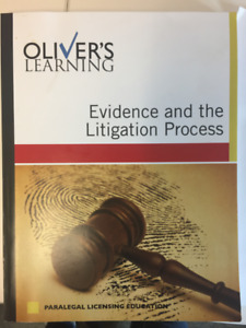 Oliver's Learning.  Evidence and the Litigation Process