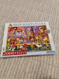 2000 piece Circus puzzle