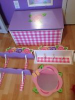 4 pcs girls room decor
