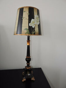 Antique Wooden Lamp