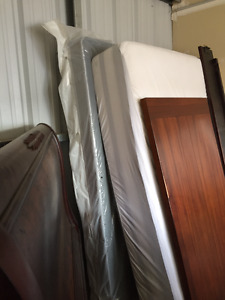 Queen Sealy pillow top with box spring
