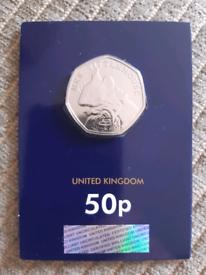 Beatrix Potter Mrs Tittlemouse 50p Coin