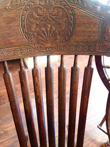 Antique Rocking Chair - Made In U.S.A. Kingston Kingston Area image 4