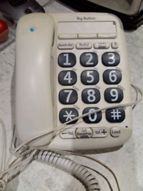 Big button corded BT 200 phone