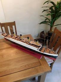 Titanic model highly detailed