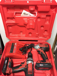 Milwaukee COMBO kit 1/2 Drill and Impact Driver