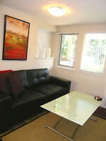 Available NOW | Furnished Garden Suite in North Vancouver