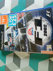 PS2 game F1 2002