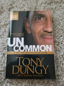 Uncommon book by Tony Dungy