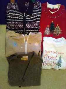 CHRISTMAS SWEATERS WITH FREE T-SHIRT