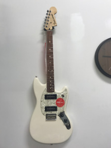 NEW Fender Mustang Short Scale Offset Electric Guitar Olympic Wh