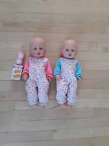 2 jolies poupées