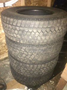 """Toyo Open Country WLT1's Winter 17"""" tires"""