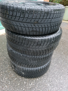 Michelin X-ice winter tires with RIMS 225/50R17