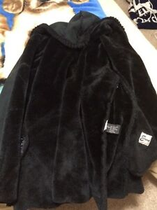 Faux fur coats!