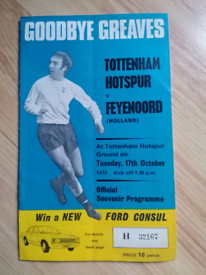 Goodbye Greaves Tottenham vs Feyenoord 1972