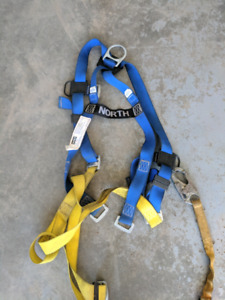 North safety harness and lanyard $100