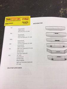 WESTERN STAR AFTERMARKET BUMPERS