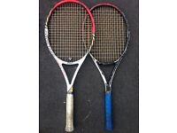 Wilson Pro staff 95 2x tennis rackets
