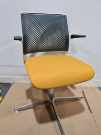 Senator visitor swivel chairs (2 available) £50 each
