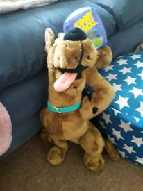 Scooby doo soft toy