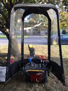 Snow cab for snowblower
