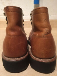 Women's Nerman Leather Hiking Boots Size 5 London Ontario image 2