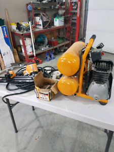 Bostitch compressor and framing Nailer