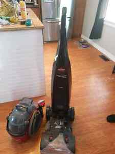 Bissell pro heat 2x lift off pet steam cleaner