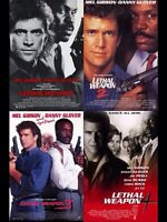Lethal Weapon 1, 2, 3 & 4...$6 Firm For Everything
