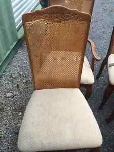 6- Cane Back Chairs Cornwall Ontario image 2