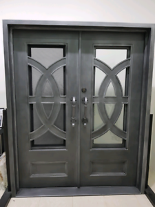 Double Entrance Steel Door Punchbowl Canterbury Area Preview