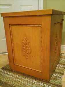 CUSTOMIZED SENTRY SAFE COVER TABLE
