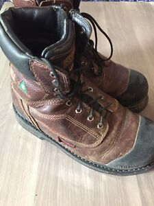 Dakota metatarsal protection work boots size 9