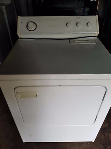Gas dryer 150.00, clean, works well, Delivery available