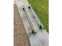 BMW X1 Halfords Exodus Aero roof bars A120 with fitting kit