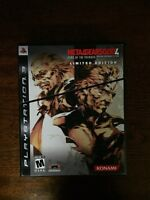 Metal Gear Solid IV Limited Edition