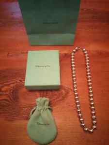 Tiffany's Silver Beads Necklace - Urgent