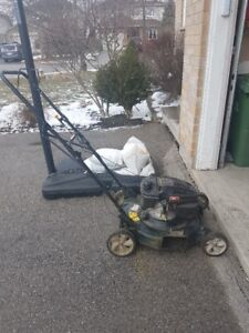 Gently used lawnmower