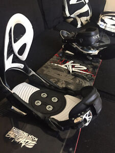 147cm K2 Snowboard with Firefly Bindings - Great for Park Riders