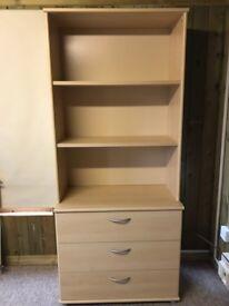Shelf and drawer unit